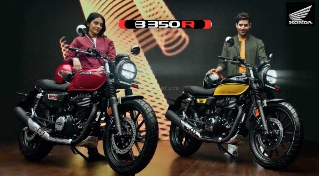 Honda H'ness CB350 RS launched. Check price, details and etc