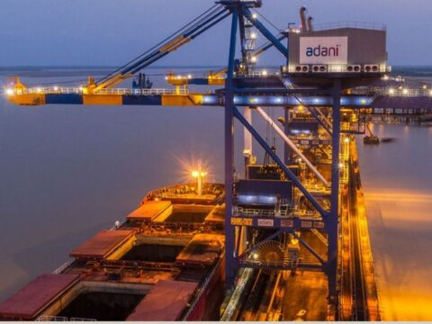 Adani Ports share price touched a 52-week high of Rs 768.40