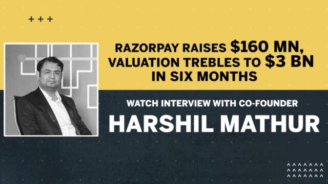 Razorpay Raises $160 Mn; Interview With Co-Founder Harshil Mathur