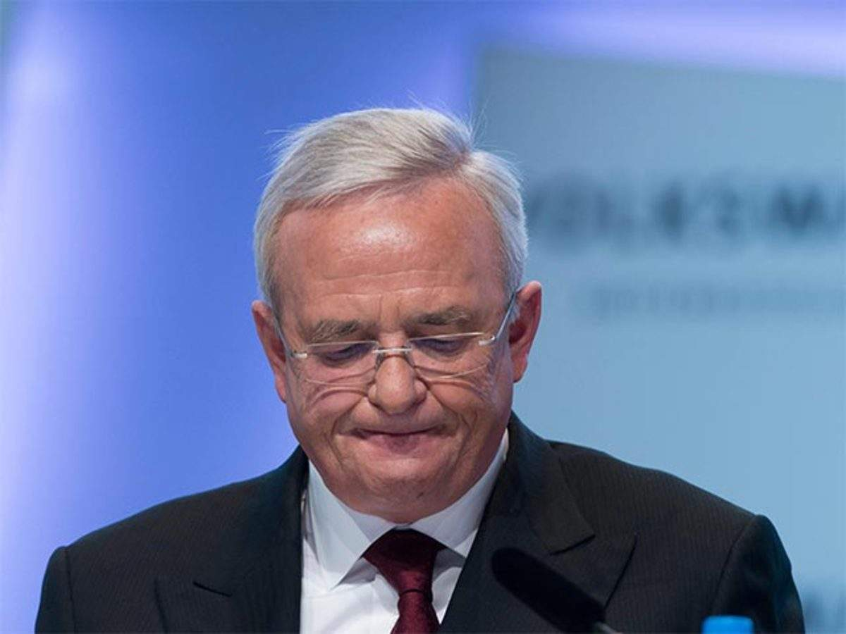 Ex-Volkswagen CEO Martin Winterkorn charged with false testimony in diesel scandal