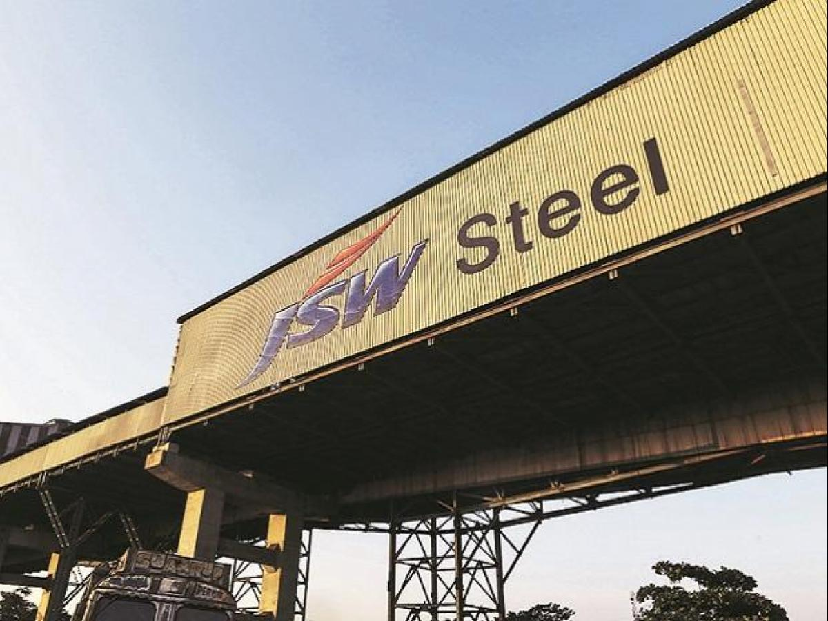 JSW Steel share rises 3% after firm clocks higher output in May