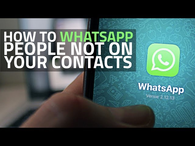How to Send Message to Unsaved Number Without Adding Contact
