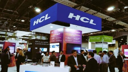 Shares of HCL slips 2% on profit booking post September quarter results.